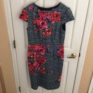 Betsey Johnson Floral Dress Sz 14